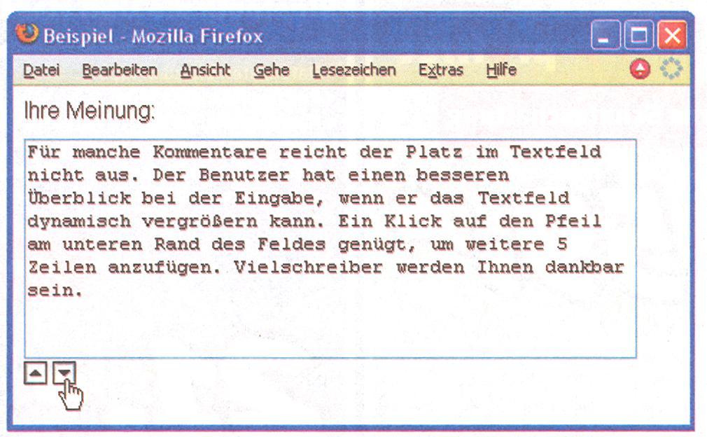 Javascript Textbox